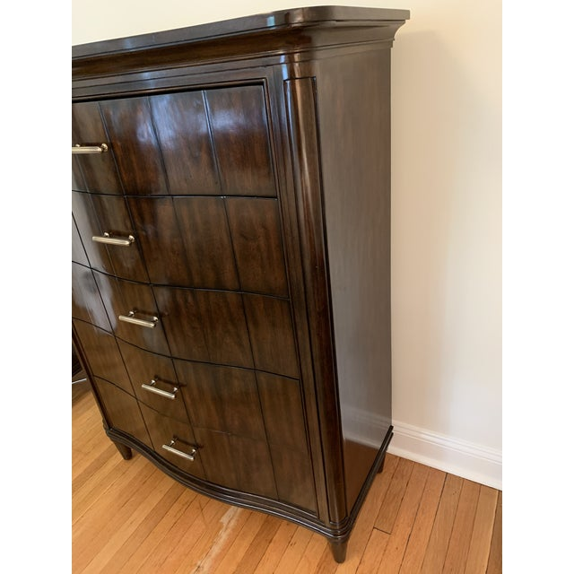 (1) Stanley Furniture Avalon Heights Swingtime Dresser. This dresser has (5) very generous sized drawers with beautiful...