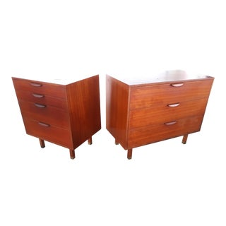 Harvey Probber Chest of Drawers - Set of 2 For Sale