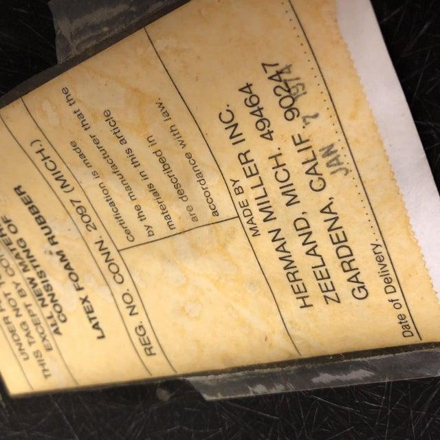 White Eames for Herman Miller E C-118 Drafting Stool For Sale - Image 8 of 10