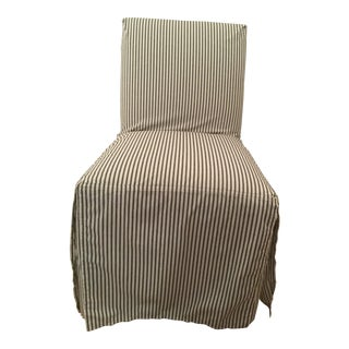 Ethan Allen Sebago Slipcovered Dining Chair