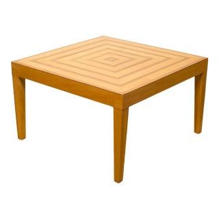 Mid-Century Studio Parquetry Coffee Table C.1960 For Sale