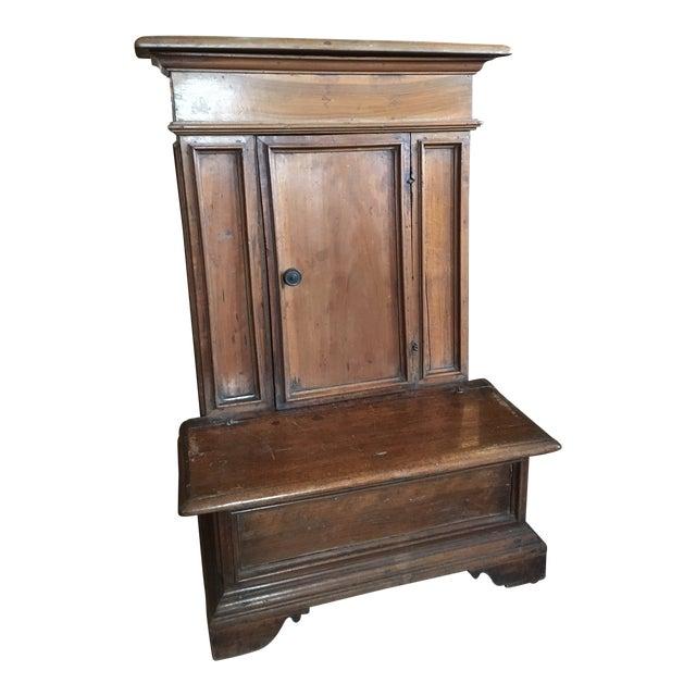 1900s Renaissance Revival Oak Prie Dieu Watson & Boaler Nighstand For Sale
