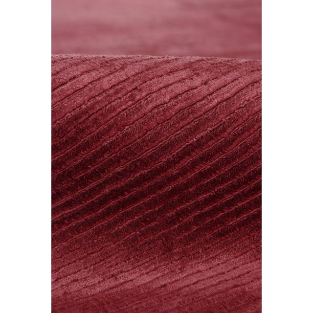Not Yet Made - Made To Order Exquisite Rugs Ives Hand loom Viscose Red/Multi Rug-15'x20' For Sale - Image 5 of 10