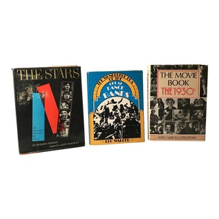 Vintage Movie Star Books - Set of 3 For Sale