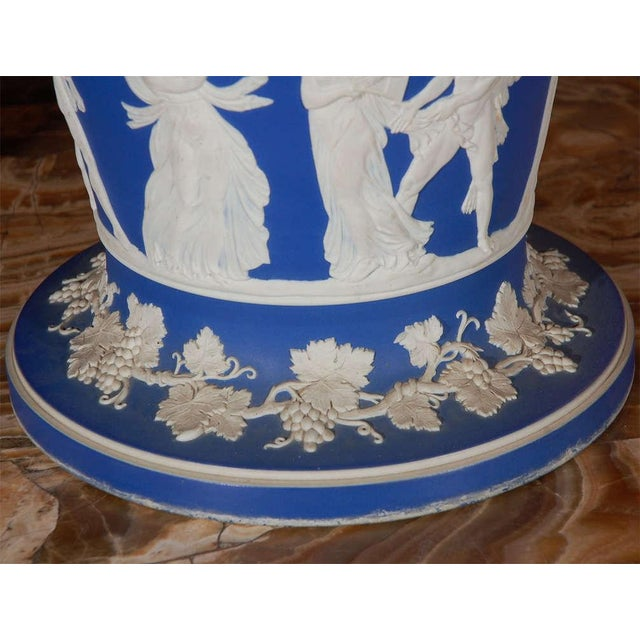 19th Century English Wedgwood Stamped Jardinieres - a Pair For Sale In Los Angeles - Image 6 of 7