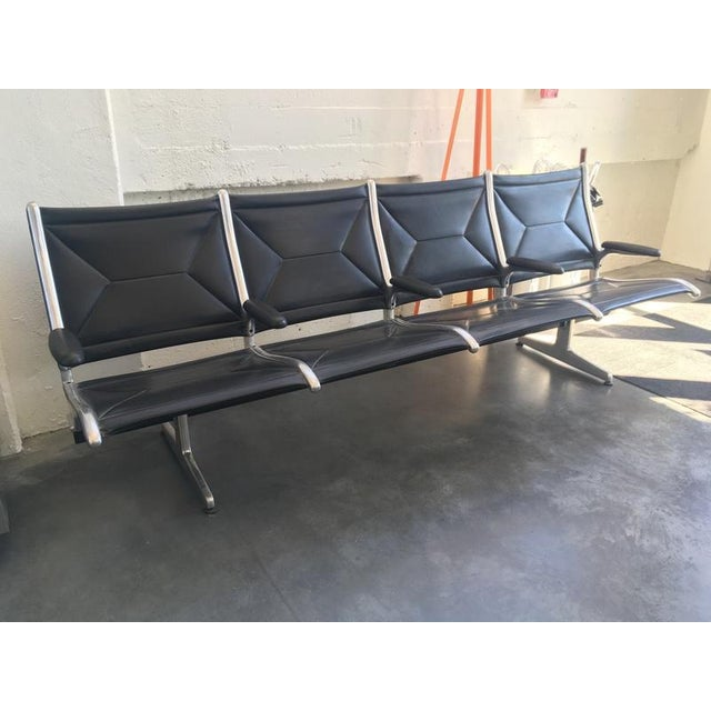 Charles & Ray Eames Tandem Sling Airport Bench - Image 12 of 13