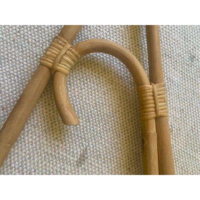 Vintage Rattan Hanger Hook For Sale - Image 9 of 10
