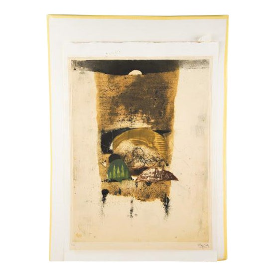 """Johnny Friedlaender """"The Hours Morning"""" Lithograph - Image 1 of 9"""