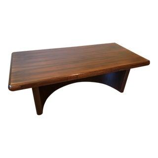 Dyrlund Rosewood Super Skyline Executive Desk For Sale