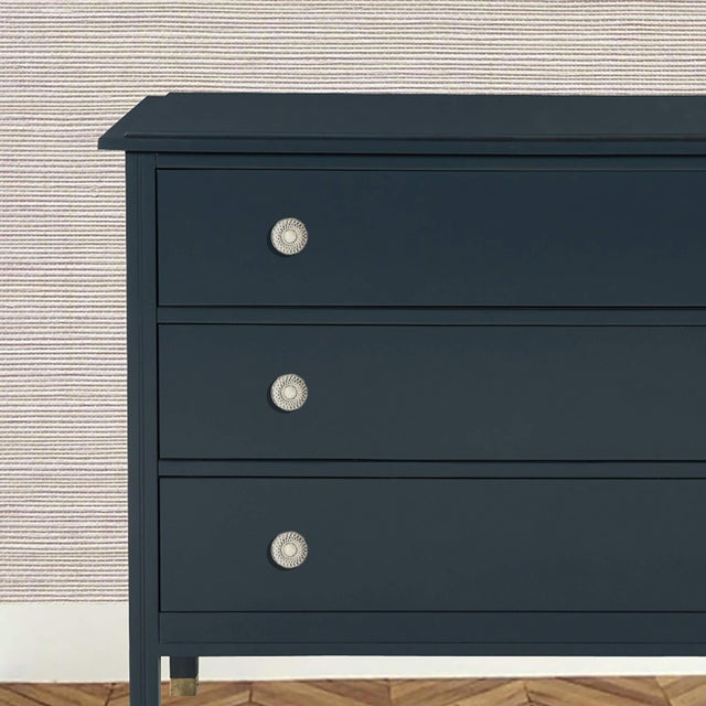 Addison Weeks Oliver Knob Small, Nickel & Moonstone For Sale - Image 4 of 4