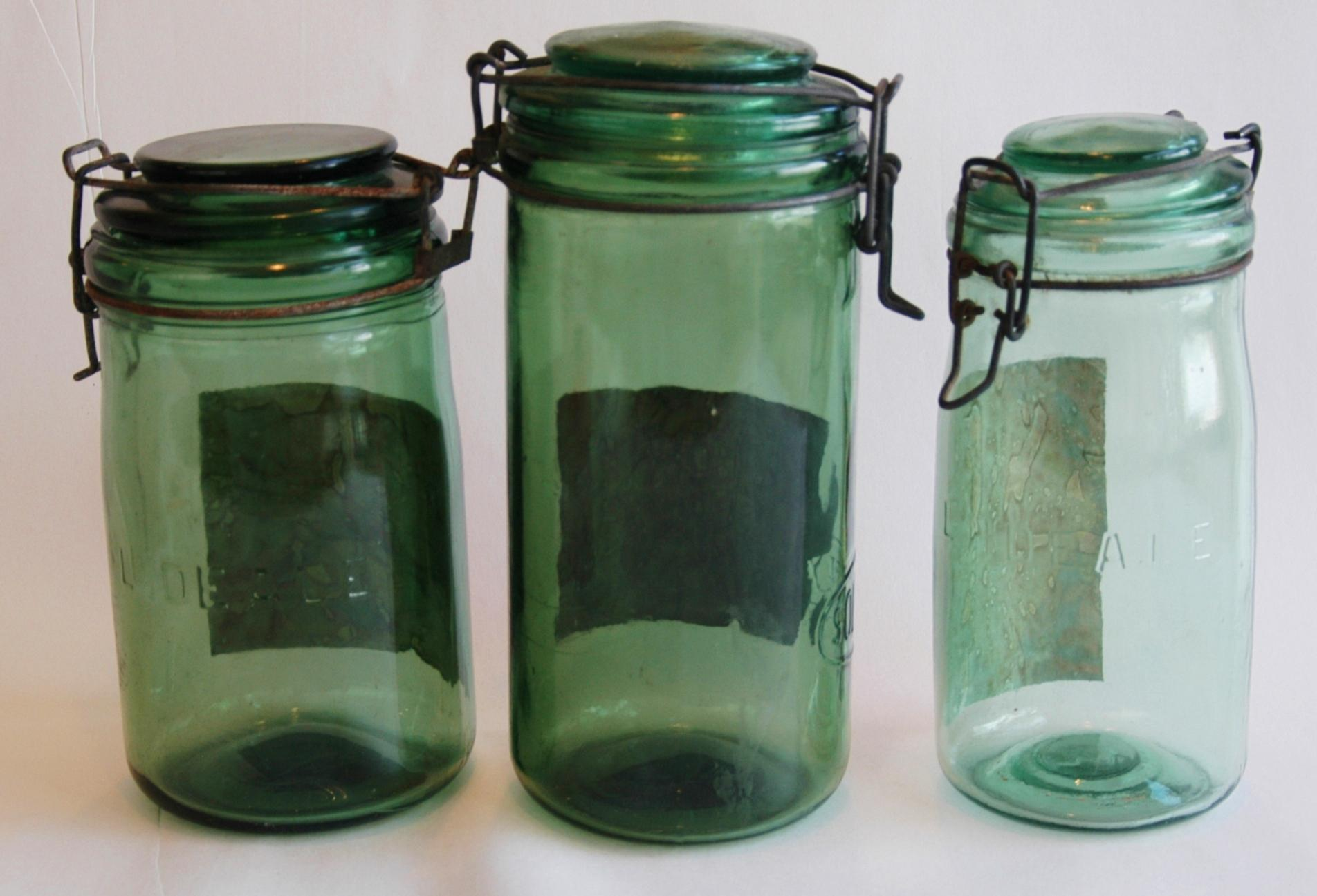 1930 hair styles 1930s canning preserve jars w labels amp lids set 8457