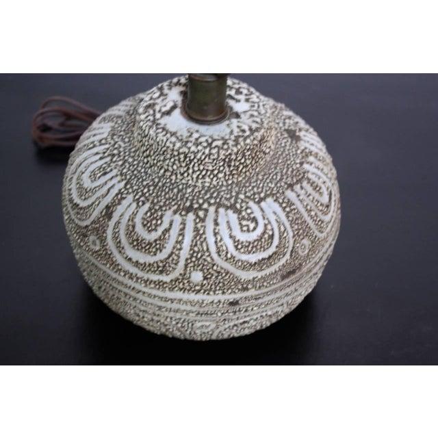 Design Technics Textured Ceramic Table Lamp - Image 5 of 7