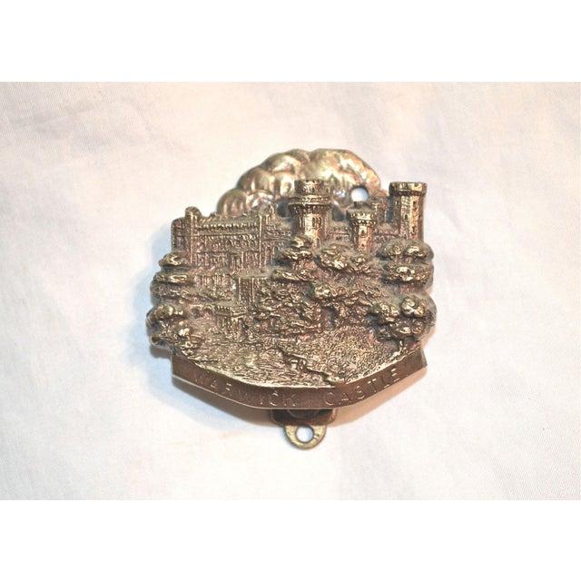 Metal Medieval English Edifice Warwick Castle 1920s Door Knocker For Sale - Image 7 of 11