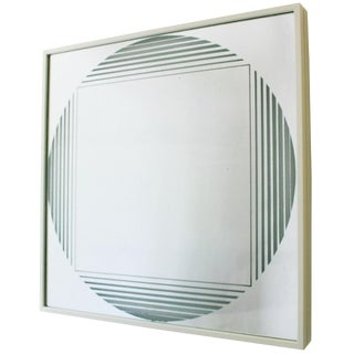 "Fontana Arte ""Brama"" Illuminated Mirror For Sale"