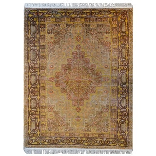 Early 20th Century Central Asian Khotan Rug For Sale