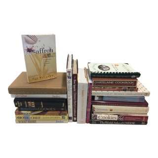 Decoratie Book Lot Cookbooks 22 Book Set