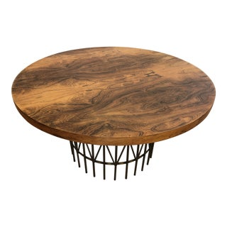 Milo Baughman Thayer Coggin Rosewood Entry Table For Sale