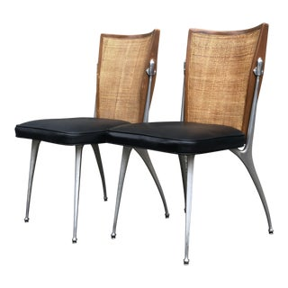 1960s Mid-Century Modern Shelby Williams Gazelle Chairs - a Pair