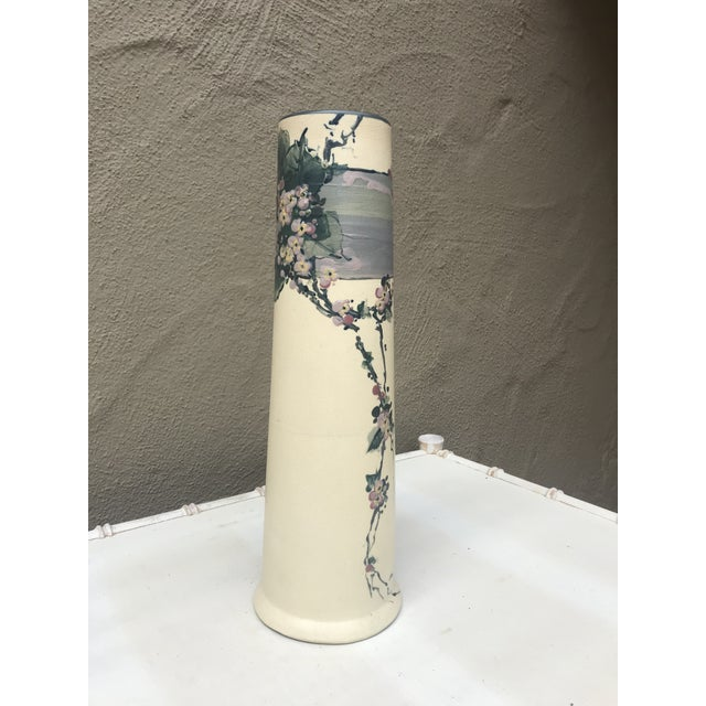 Ceramic Early 20th Century Weller Hudson Vase For Sale - Image 7 of 7