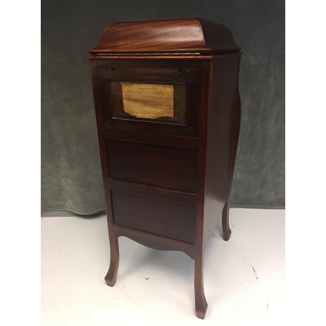 Antique Victrola Wood Record Player Cabinet For Sale - Image 10 of 11 - Antique Victrola Wood Record Player Cabinet Chairish
