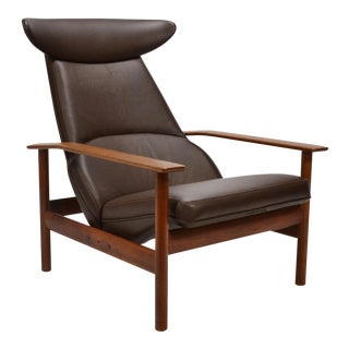 Sven Ivar Dysthe Reclining Lounge Chair For Sale