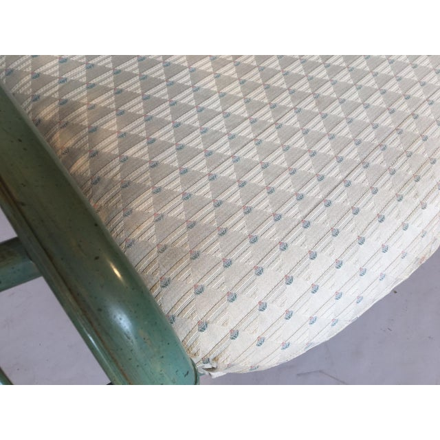 Ficks Reed Rattan Bamboo Fan Back Arm Chair - Image 9 of 11