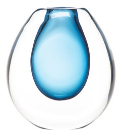 Image of Baby Blue Vessels and Vases