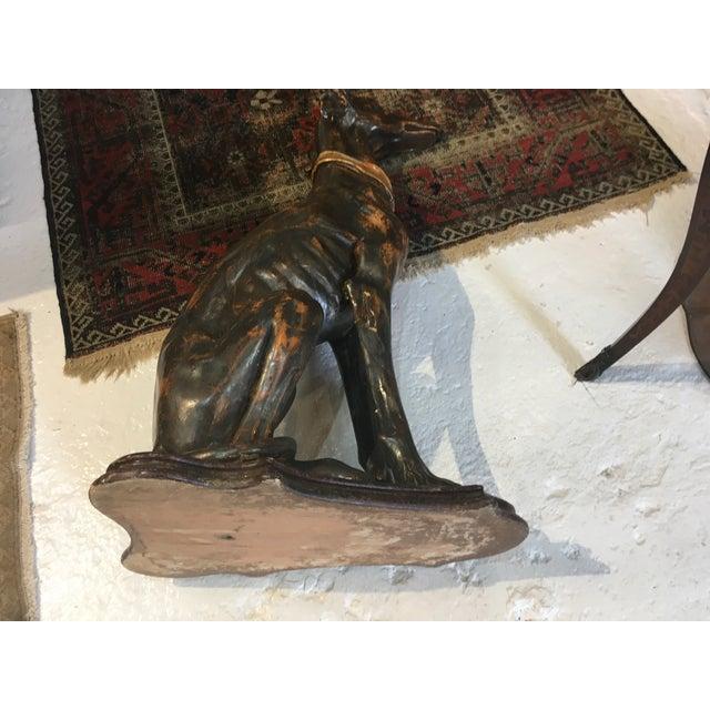 Italian Gilt Wood Whippet For Sale - Image 11 of 13
