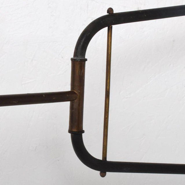 1950s Mid-Century Modern French Industrial Wall Sconce After Jean Prouve For Sale - Image 5 of 10
