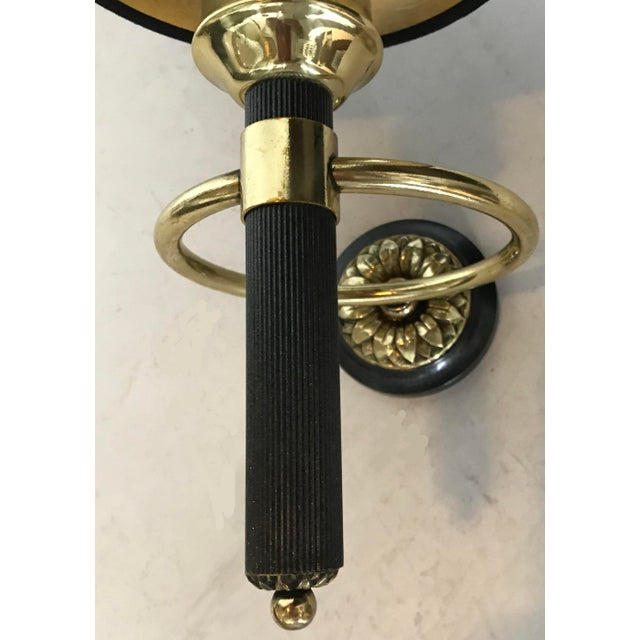 Neoclassical Maison Jansen 1 Arm Sconces - a Pair For Sale - Image 3 of 6