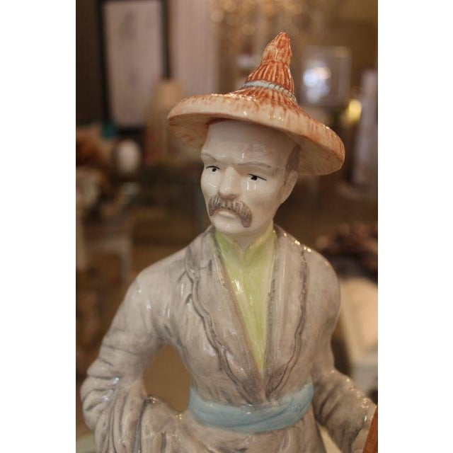Chinese Man Transitional Figure - Image 6 of 7