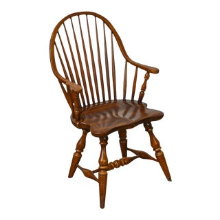 Frederick Duckloe & Bros Windsor Style Childs Diminutive Size Arm Chair (B) For Sale