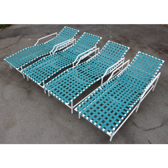 Mid-Century Tropitone 'Cantina' Reclining Patio Lounges - Set of 4 - Image 3 of 11