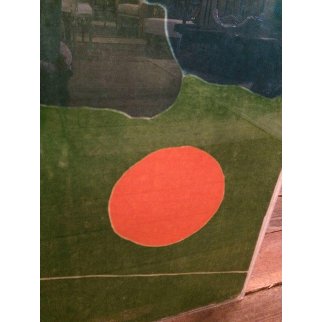 """Abstract 1980s Vintage """"I'll Catch the Sun"""" Abstract Silkscreen Artist's Proof For Sale - Image 3 of 8"""