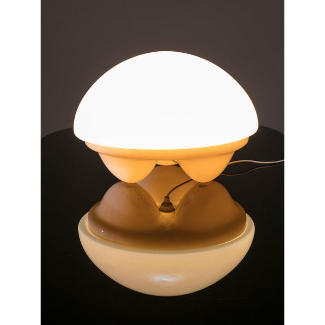 "1970s ""Isotta"" Table Lamp by E. Gentile for Sormani For Sale - Image 5 of 5"