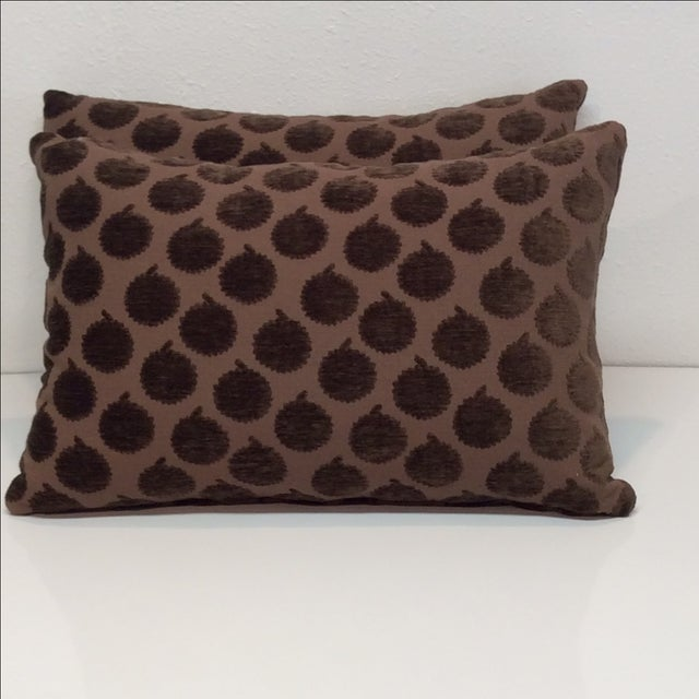 John Robshaw Pillows - Pair - Image 2 of 5