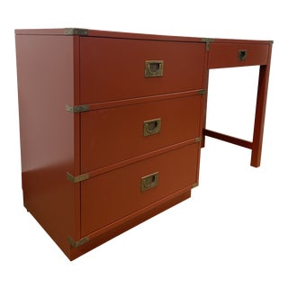 1960s Campaign Drexel Brigade Writing Desk For Sale