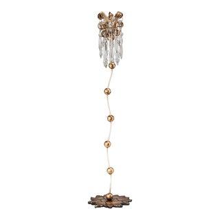 Venetian Large Whimsical Candlestick Holder For Sale