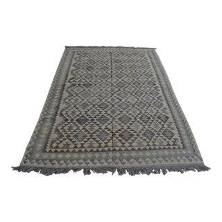 Afghan Handwoven Kilim Rug For Sale