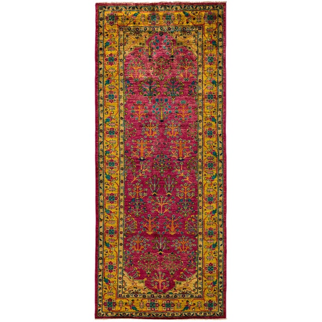 "Ziegler Hand Knotted Runner - 4'1"" X 10'3"" For Sale"