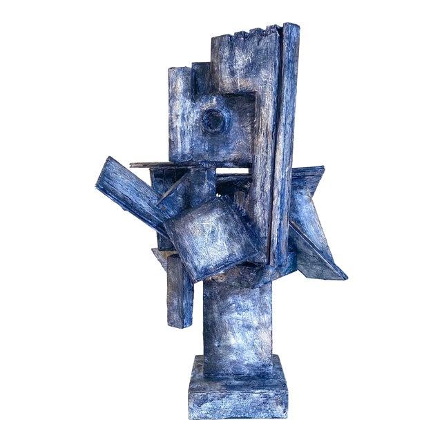 Mid-Century Modernist / Cubist Sculpture For Sale