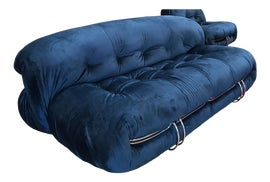 Image of Blue Standard Sofas
