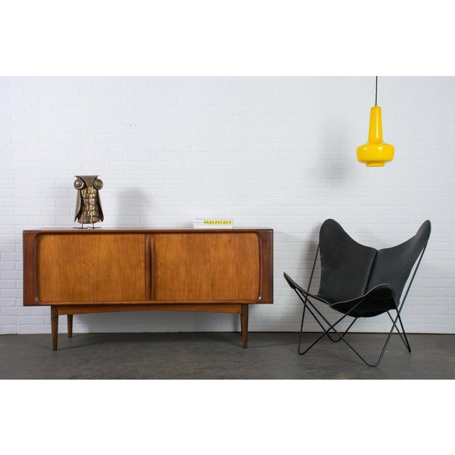 Jacob E. Bang Vintage Mid-Century Yellow 'Kreta' Pendant Lamp - Image 4 of 5