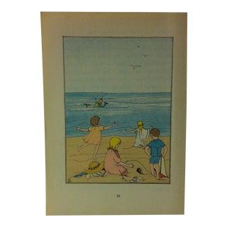 "1927 ""Hiawatha's Childhood"" Across the Rainbow Bridge Print For Sale"