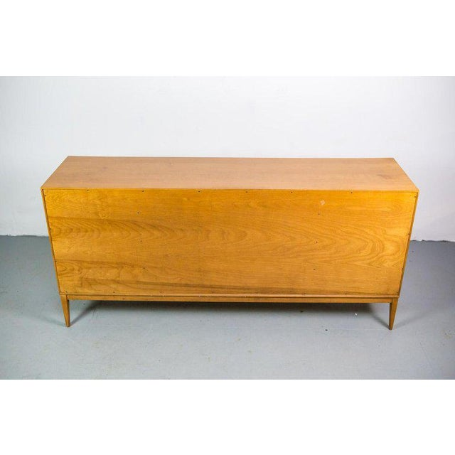 Paul McCobb for Winchendon Twenty-Drawer Chest With Brass Pulls For Sale - Image 6 of 8