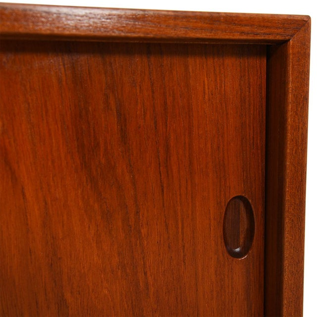 Mid 20th Century 1950s Kofod Larsen Danish Teak Cabinet / Room Divider For Sale - Image 5 of 9