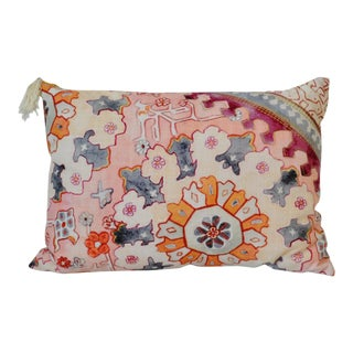 Risa Patterned Cotton Pillow For Sale