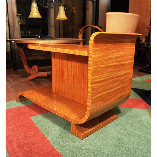 Unusual Art Deco Occasional Table For Sale - Image 5 of 10