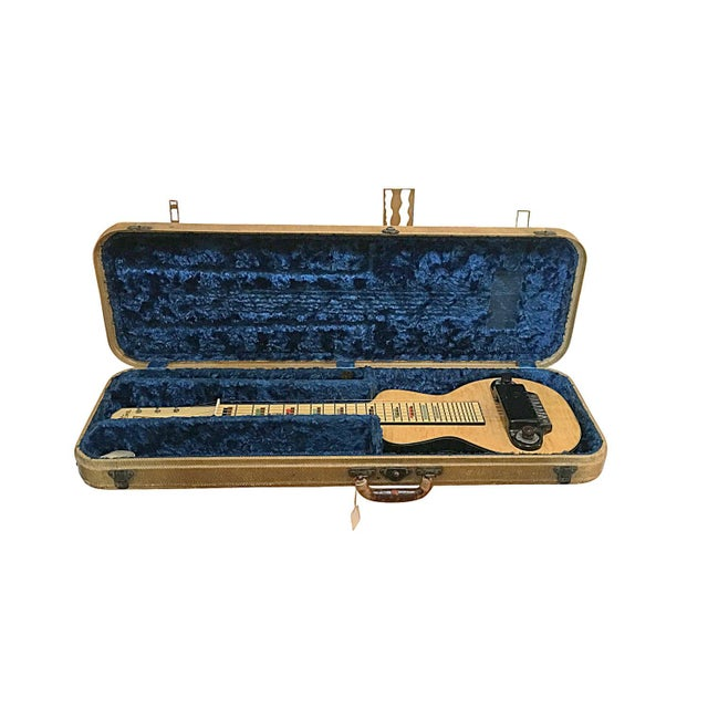 1930s Silvertone Birdseye Maple Lap Steel Guitar - Image 3 of 5