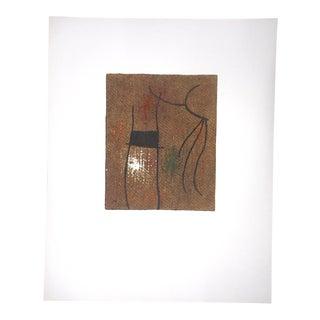 Large Mid 20th C. Ltd. Ed. Miro Lithograph For Sale